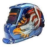Schweißhelm Automatik Schweißschirm Schweißschild (Blue Eagle)