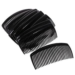 Fenteer Haarklammer Haarspange Haarclip in Verschieden Farben (12 Stücke/Set)
