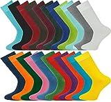 Mysocks® Unisex Ebene Farbe Socken Feinste gekämmte Baumwolle