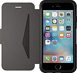 OtterBox Apple iPhone 6/6s Strada Folio-Hülle aus Lede, shadow