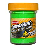 BerkleyPowerbait Natural Scent Trout Bait Glitter Garlic Spring Gre
