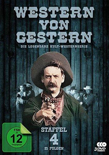 Western von Gestern - Box 4 (21 Folgen) (Fernsehjuwelen) [3 DVDs] (Davy Crockett-tv-serie)