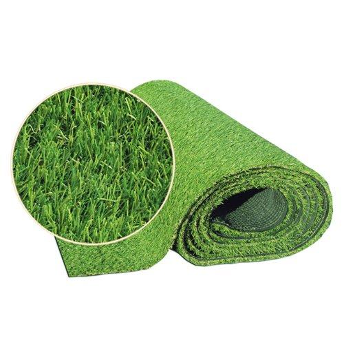 Prato erba sintetica verde in polietilene mod. Cricket 2x10 mt Papillon