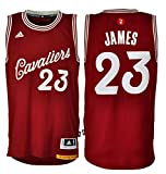 adidas LeBron James #23 Cleveland Cavaliers Christmas Day NBA Trikot S