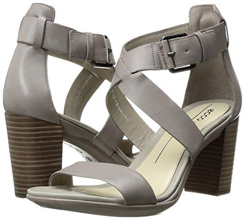 Ecco Damen Shape 65 Block Sandal Offene  toe sandalen , Grau (1459MOON Rock), 37 EU -