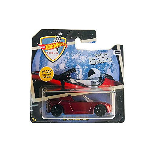 Hot Wheels '08 Tesla Roadster Greetings from Space 2019