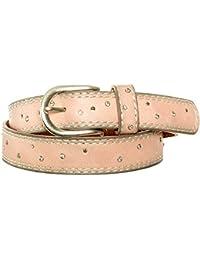 Gadzo® Damen Gürtel Nieten strass Stern Vintage Look kürzbar teil Leder Kamari21