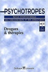 Psychotropes Volume 8 N° 1 2002 : Drogues et thérapies