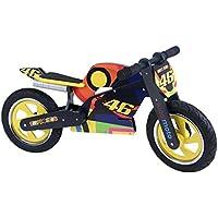 "Kiddimoto 346 ""Superbike Hero Laufrad Valentino Rossi"" Wooden Balance Bike"