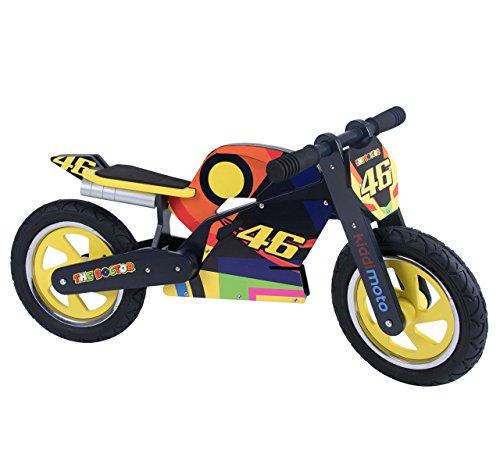 Kiddimoto-346 Superbike Hero Vélo Valentino Rossi, 346, Multicolore