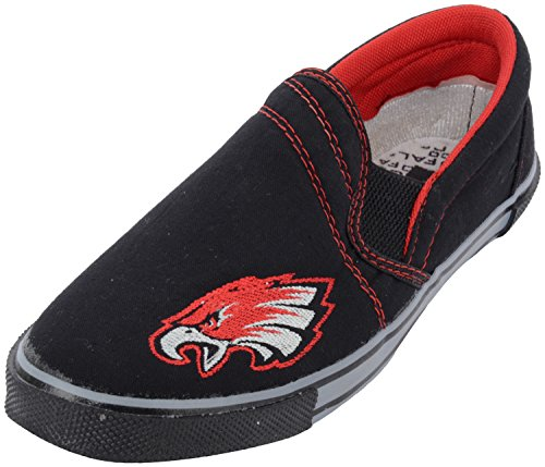 Hifly Men's Black Cotton Sneakers (FALCO, Size: 9 UK)