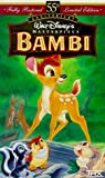 Bambi (Fully Restored 55th Anniversary Limited Edition) (Walt Disney's Masterpiece) [VHS]