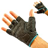 Mava Sports Workout Gloves for Weightlifting, Gym Exercise, Weight Training, WOD & Fitness Workouts – Silicone Grip & Callus Guard (Power Silicone)