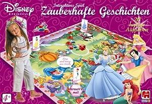 Jumbo Spiele Disney Princess-Historias mágico, para 2-4Jugadores a Partir de 4años