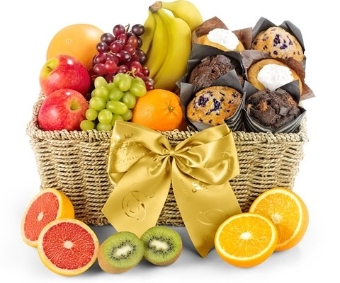Fresh Fruit & Muffin Hamper