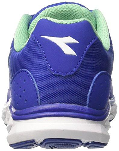 Diadora Hawk 8 W, Scarpe da Corsa Donna Blu (Blu Profondo/Bianco)