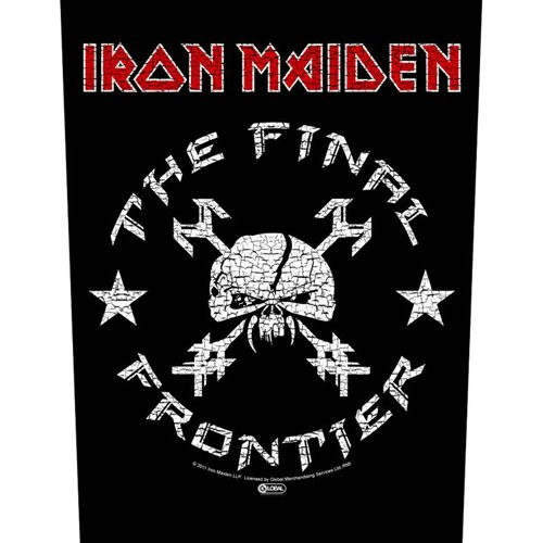 Iron Maiden - Backpatch The Final Frontier - Vintage Skull (in 23,5 cm x 20 cm)
