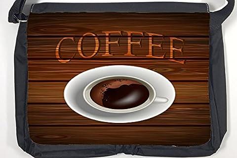 Bandoulière Publicité Cuisine Tasse à café imprimées