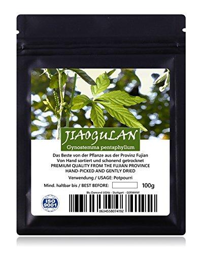 JIAOGULAN (Unsterblichkeitskraut) - Natürliche Wildsammlung | TOP-Qualität vom Original | Frische...