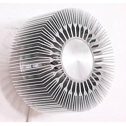 ASNSWDC® Proiezione 5W Incorpora LED rotonda Girasole alluminio Tipo Lampada