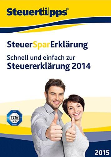 SteuerSparErklärung 2015 (für Steuerjahr 2014) [Download]