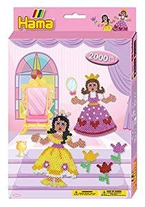 Hama 10.3444 Princess - Juego de Cuentas de Mosaico para Colgar (tamaño único)