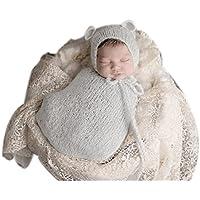 binlunnu Lujo recién nacido fotografía Props Boy Girl – Gorro para disfraz  de ... bdcd0903e4c