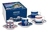 Könitz 11 5 053 1861 Tasse Amalfi, 4-teilig Set
