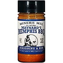 Maynards Memphis BBQ Seasoning and Rub. All Natural, No Msg, Low Sodium, No Preservatives. Huge Flavor for Smoked BBQ, Pulled Pork, Butts, and Baby Backs or Spare Ribs. The No Sauce Needed Rub