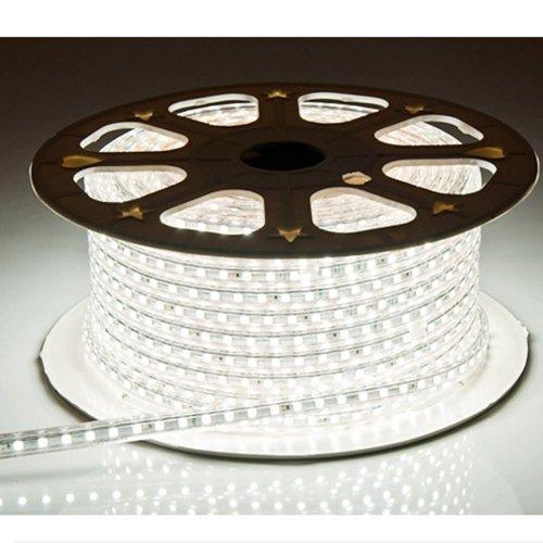 KIPTOP ®-SMD LED 220V 5050 LED de 10 m con agua de sello de tiras de 600 - utilizar directamente sin necesidad de adaptador, es más conveniente