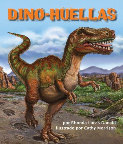 Dino-huellas por Rhonda Lucas Donald