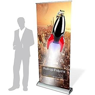 Futura Roll Up Banner Stand with Terminal Blocks, Digitaldruck, Motivbreite 60 cm