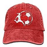 Mermaid Unisex Baseball Cap Cotton Denim Adjustable Hiphop Cap for Men Women Fashion3