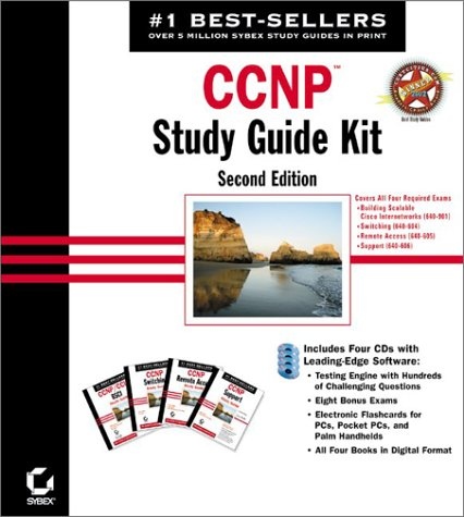 CCNP Study Guide Kit, 4 CD-ROMsRouting (Exam 640-603); Switching (Exam 640-604); Remote Access (Exam 640-605); Support (Exam 640-606) -