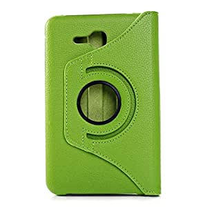 2010kharido 360¡Rotating PU Leather Stand Case For Samsung Galaxy Tab 3 Lite 7.0 SM-T110 Green