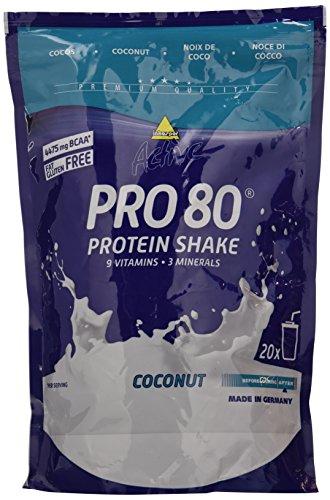 #Inko ACTIVE Proteinshake Pro 80 Beutel, Cocos, 500g#