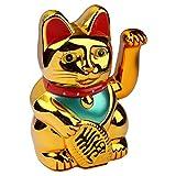 Gatto decorativo che saluta, portafortuna giapponese