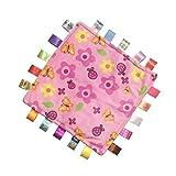 Baby Tags Peluche Sensory Toy Rose Couverture de sécurité pour le cadeau de douche