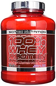 Scitec Nutrition Vanilla Very Berry 100% Whey Protein Professional 2350g by SCITEC