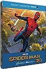 SPIDER-MAN - HOMECOMING - STEELBOOK LIMITE BD 3D + 2D (UV) [Édition limité boîtier SteelBook - Blu-ray 3D + Blu-ray + Digital UltraViolet]