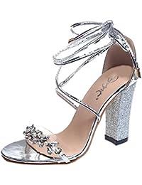ff96cb96bb218 Amazon.es  mujeres sexy - 37   Zapatos de tacón   Zapatos para mujer ...