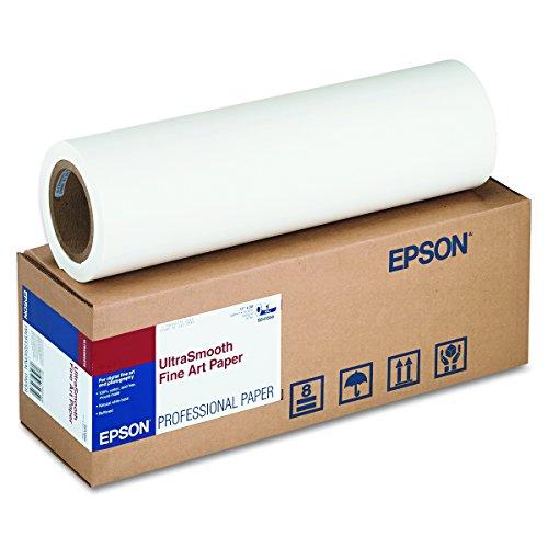 7800 Inkjet (Epson C13S042074 Ultrasmooth fine art paper inkjet 250g/m2 432mm x 15.2m 1 Rölle Pack)