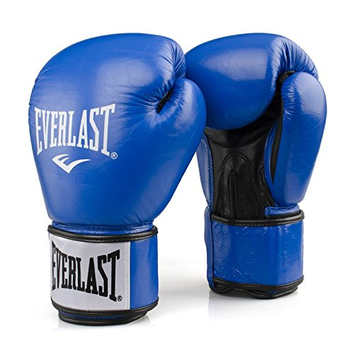 Everlast Erwachsene Boxartikel 1803 Boxing Gloves Rodney, Blue/BlacK, 14, 057205 52030
