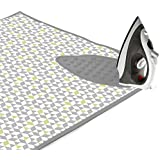 Encasa Homes Padded Ironing Mat (Large) with Iron Rest - Triangles