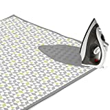 #9: Encasa Homes Padded Ironing Mat (Large) with Iron Rest - Triangles