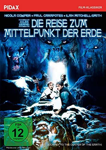 Jules Verne: Die Reise zum Mittelpunkt der Erde (Journey to the Center of the Earth)  / Ausgefallener Abenteuerfilm nach dem gl
