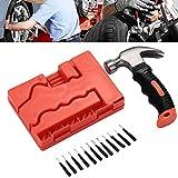 Sedeta® Autoreifen-Reparatursatz Vacuum Reifen Notfall Patch Reparatur Wartungs-Kits Nagel-Greifer-Hammer-Werkzeug
