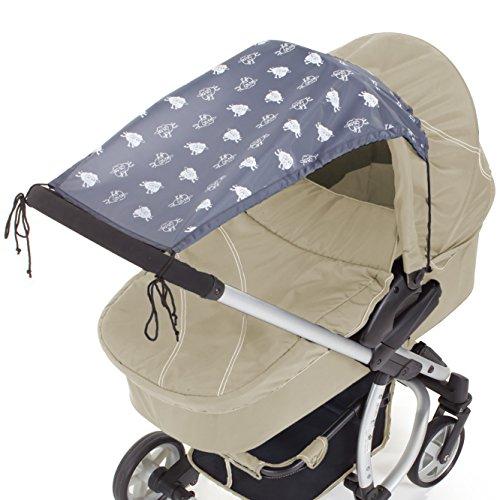 DIAGO Sonnensegel Kinderwagen, anthrazit