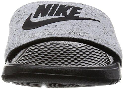 Nike Benassi Jdi Flc Qs, Chaussures de Sport Homme Multicolore