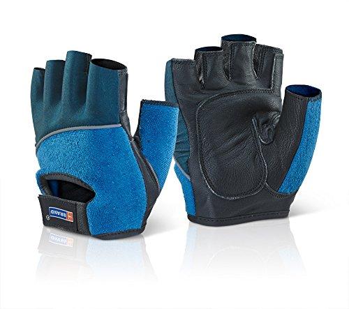 Fingerlose Gel-Handschuhe, R/W/B, xxl